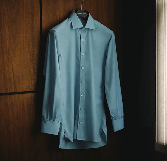 Turnbull & Asser Dr. No cocktail cuff shirt