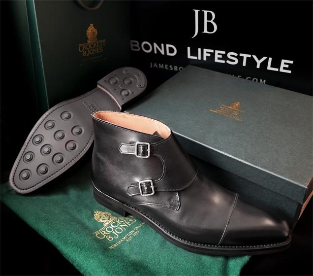 Crockett & Jones Camberley in black calf with Dainite rubber soles