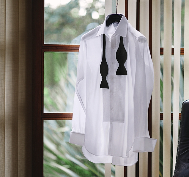 Turnbull & Asser Die Another Day Tuxedo Shirt