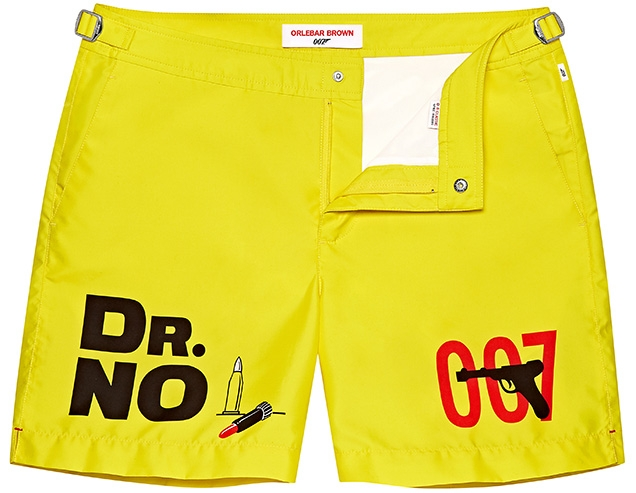 Orlebar Brown Dr No Photographic Print Bulldog Swim Shorts