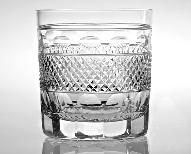 Crystal Double Old Fashioned Glassware