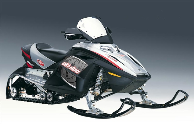 Ski-Doo MX Z-REV snowmobile, Die Another Day James Bond edition
