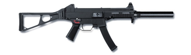 Above: Heckler & Koch UMP-9
