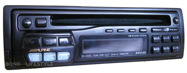 Alpine 7817R CD Tuner