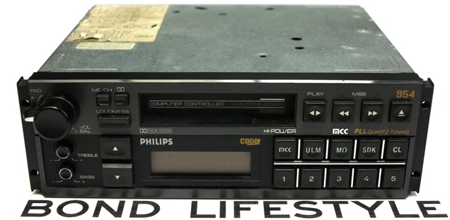 Philips DC954 car radio