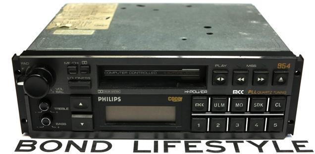 Philips DC954 car radio
