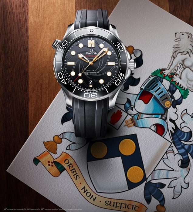 Omega Seamaster 300M James Bond Limited Edition, celebrates On her Majesty's Secret Service