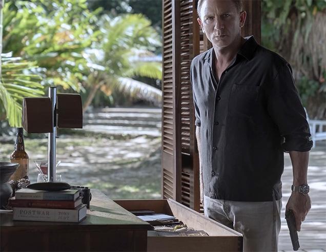 James Bond in his villa in Jamaica. Can you spot the Leica camera?