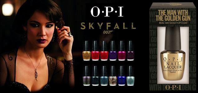 James Bond Skyfall nueva colección esmaltes Opi 2012