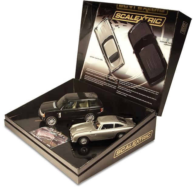 Scalextric C3268a Skyfall Aston Martin Db5 Vs Range Rover Bond Lifestyle