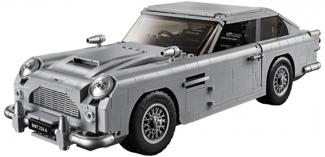 The LEGO Creator Expert 10262 James Bond 007 Aston Martin DB5‎ is the first official partnership between LEGO and 007