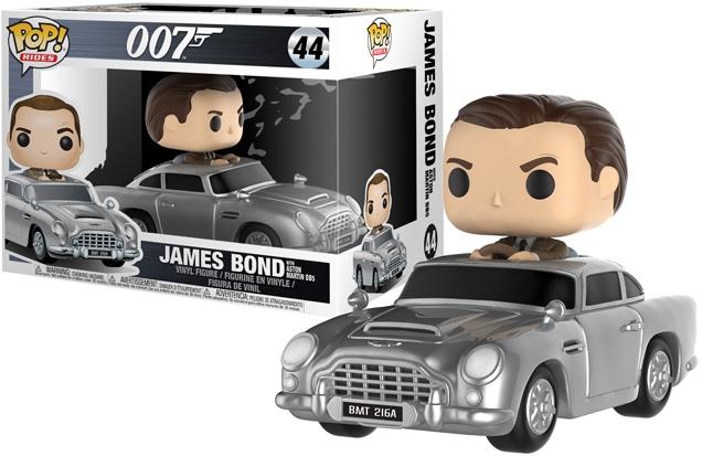 Funko POP Movies Vinyl Figure James Bond 007 Sean Connery In Goldfinger