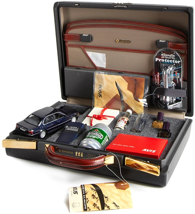 Samsonite Promotional Briefcase Tomorrow Never Dies