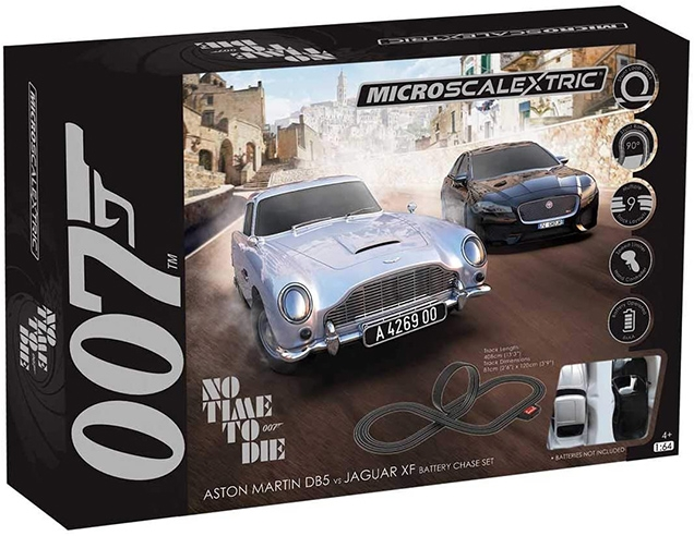 Micro Scalextric James Bond Set No Time To Die