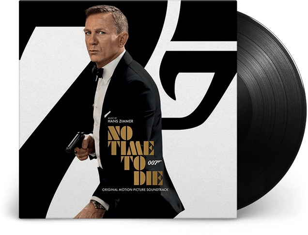 James Bond - No Time To Die Soundtrack Vinyl Disc