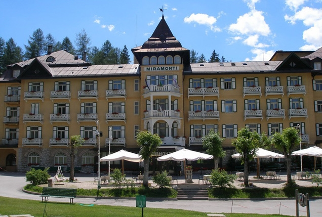 Miramonti Majestic Grand Hotel in Cortina d'Ampezzo, Italy
