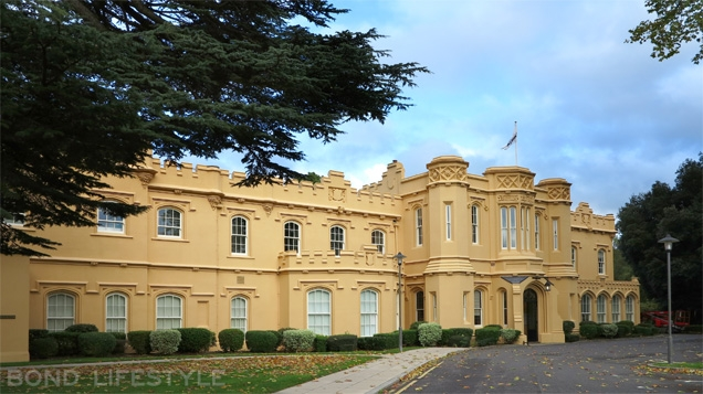 Chalfont Park House, Buckinghamshire, UK is now occupied by a company called Citrix Systems.