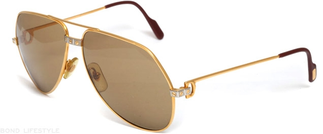 Cartier Vendome Santos sunglasses, the billionaires' choice