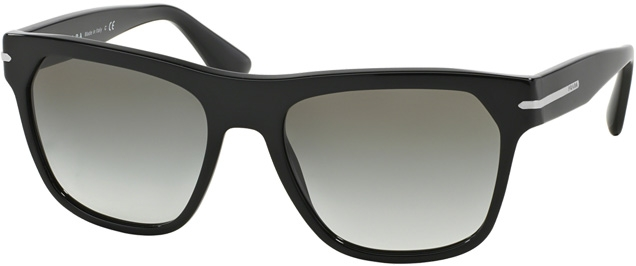 Prada PR03RS 1AB0A7 grey gradient lenses