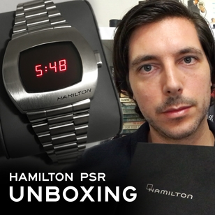 Unboxing and taking a closer look at the Hamilton PSR