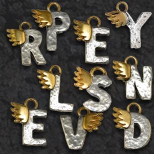 Algerian Loveknot necklace love letters