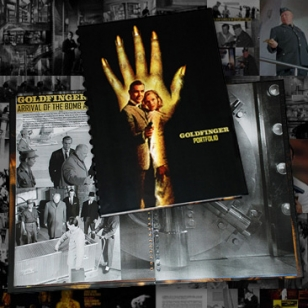 007 Magazine Goldfinger portfolio 350 page Limited Edition steelbook