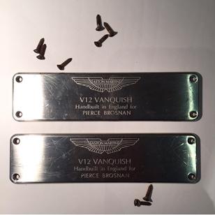 Pierce Brosnan Aston Martin Vanquish destroyed