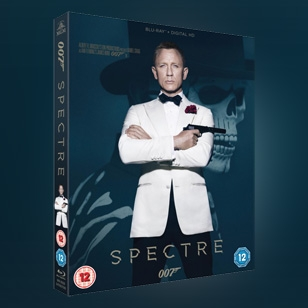 SPECTRE on DVD, Blu-Ray and HD Digital