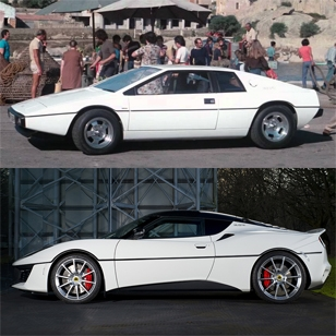 Unique Lotus Evora Sport 410 honours iconic James Bond Lotus Esprit S1