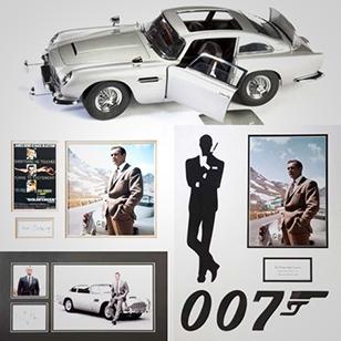 James Bond automobilia at Bonhams Aston Martin Sale auction