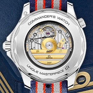 Christie's auction three Limited Edition Omega Seamaster Commander watches