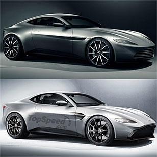 New Aston Martin Vantage revealed: looks a lot like the DB10
