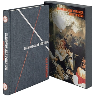 The Folio Society illustrated edition of Diamonds Are Forever