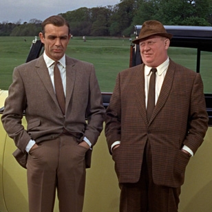 Mason & Sons recreates outfit worn by Sean Connery in Goldfinger