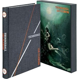 The Folio Society illustrated edition of Thunderball novel book