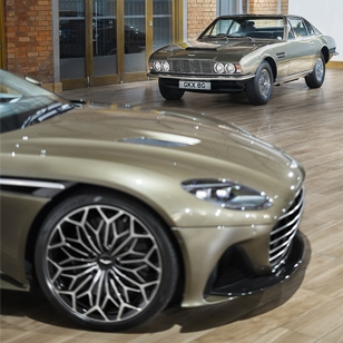 Aston Martin DBS Superleggera celebrates 50 years of On Her Majesty's Secret Service