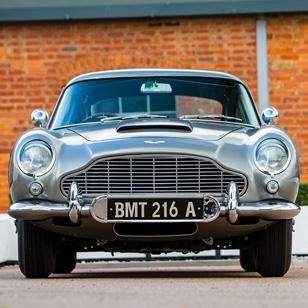 Original James Bond Aston Martin DB5 Chassis DB5/2008/R on auction in Monterey