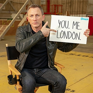 Meet Daniel Craig on the Bond 25 Set with Omaze