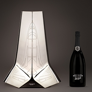 Champagne Bollinger and James Bond celebrate 40 years partnership with two special editions