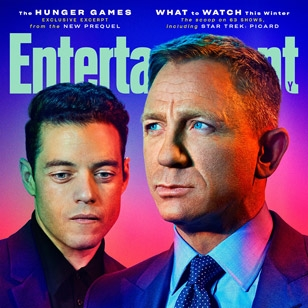 No Time To Die new photos and interviews in Entertainment Weekly