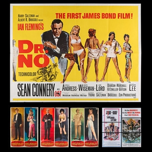 Prop Store offers James Bond and other cinema posters worth over £180,000