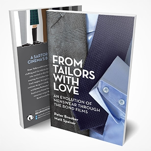 New book announcement From Tailors with Love: An Evolution of Menswear Through the Bond Films