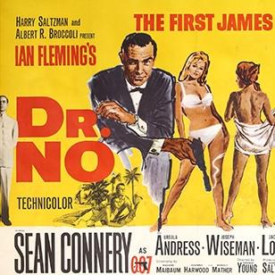 20000 for rare James Bond Dr No poster at Ewbanks