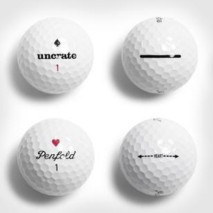 Penfold x Uncrate Heart & Spade Golf Balls