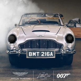 This is the 007 James Bond Aston Martin DB5 Junior Car - No Time To Die Edition