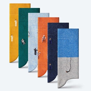 The second London Sock Exchange James Bond 007 Collection