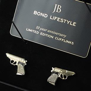Bond Lifestyle 10 Year Anniversary Limited Edition Cufflinks