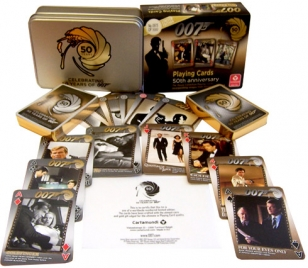007 limited edition poker set 50 years