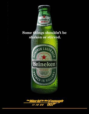 photo © Heineken, United Artists, Danjaq LLC