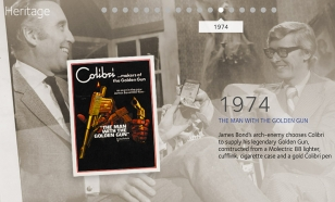 Screenshot from Colibri website